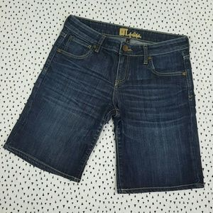Kut from the Kloth Blue Bermuda Shorts